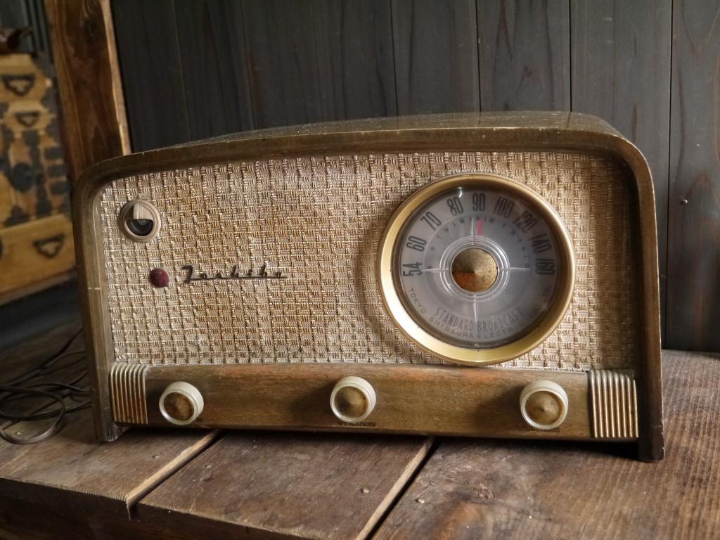 昭和 レトロ 真空管ラジオ 1007