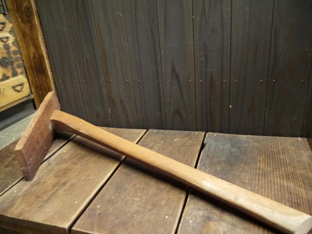 昭和 レトロ 木製鍬 くわ 1012