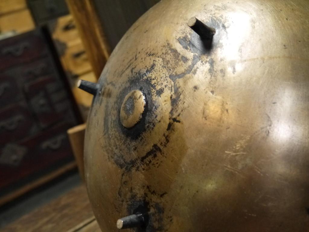 昭和 レトロ 真鍮鍋 銅鍋 山菜鍋 1017