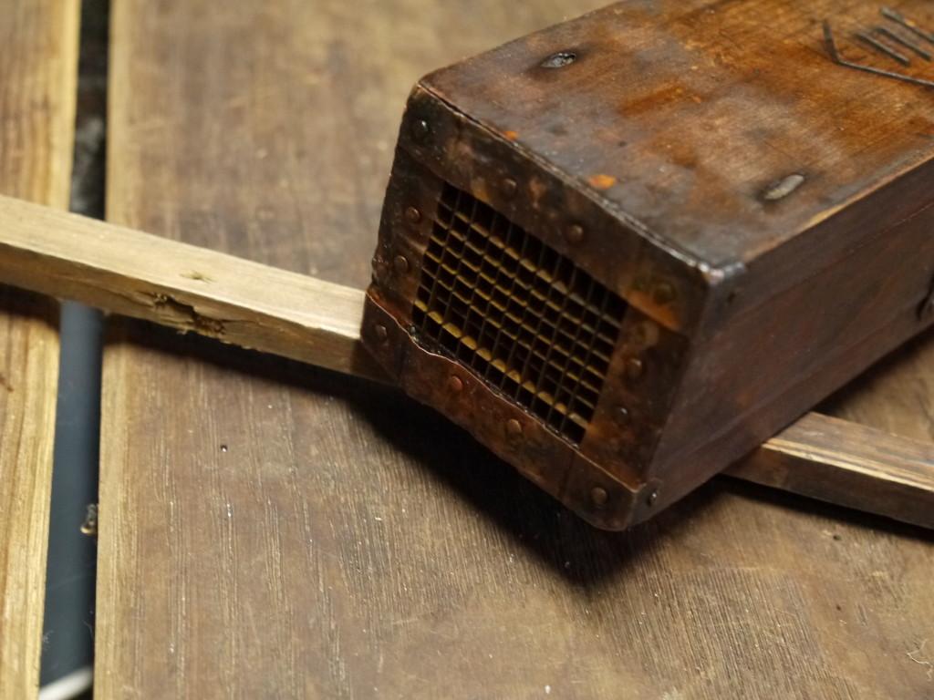 昭和 レトロ 木製 天突き器 ところてん突き機 1019