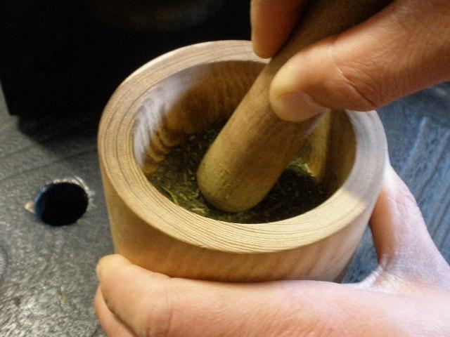 うこぎ挽き1号 槐(殿方用)木製ミル えんじゅ製