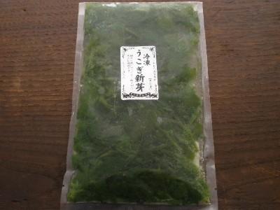 冷凍 うこぎ新芽 (100g袋詰)受注生産品