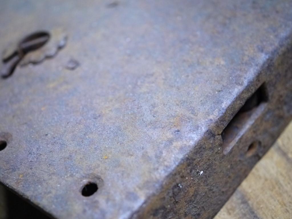 昭和レトロ 蔵戸 金具 重厚1028